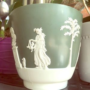 Dialene Vintage Greek Scenery Planter